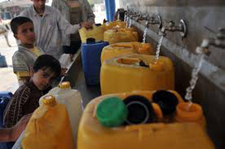 سلطة المياه: مشروع المياه العادمة في غزة سيسهم بوقف استنزاف الخزان الجوفي