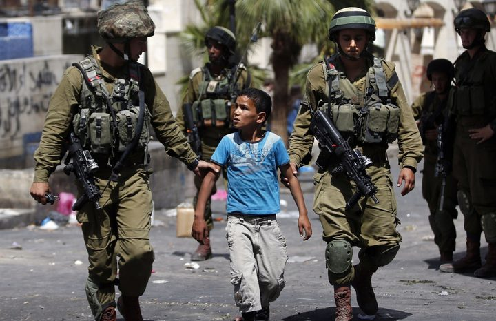 562 طفلا اعتقلهم الاحتلال منذ اعلان ترامب