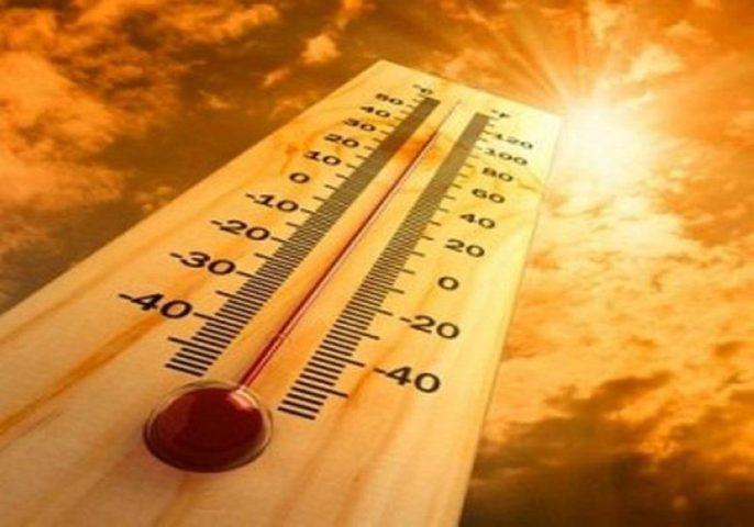 ارتفاع درجات الحرارة عن المعدل خلال 2017