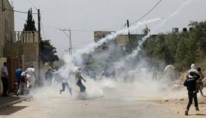 إصابة 5 مواطنين بجروح في مواجهات بكفر قدوم