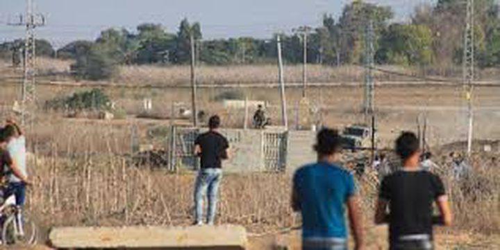 (محدث) إصابة 8 شبان أحدهما بجراح خطيرة في غزة