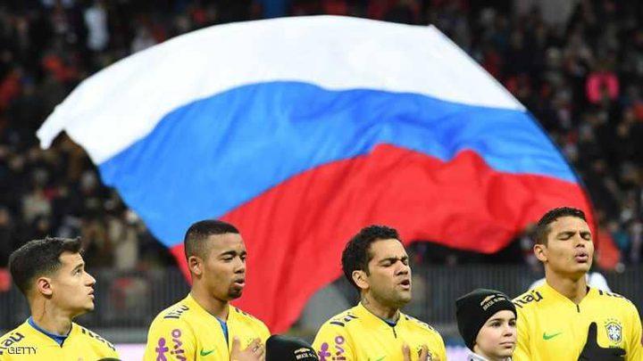 فوز كبير للبرازيل على روسيا في موسكو