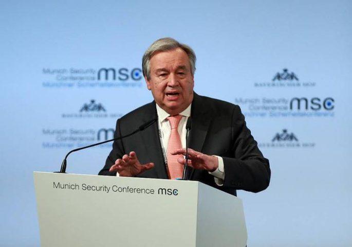 """غوتيريش يحث دول العالم على تقديم الدعم لـ """"الأونروا"""""""