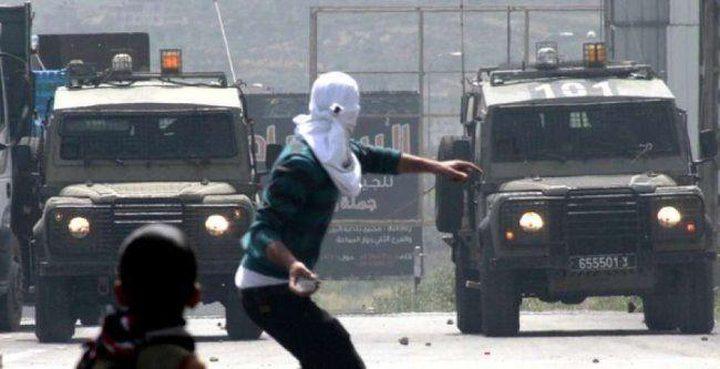 إصابة 7 شبان بجروح بينهم صحفي وطفل في مواجهات مع جيش الاحتلال في كفر قدوم