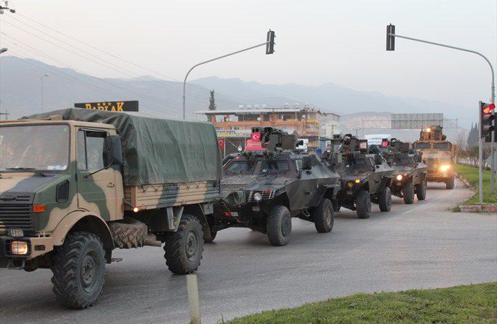 الجيش التركي يفرض السيطرة الكاملة على عفرين السورية