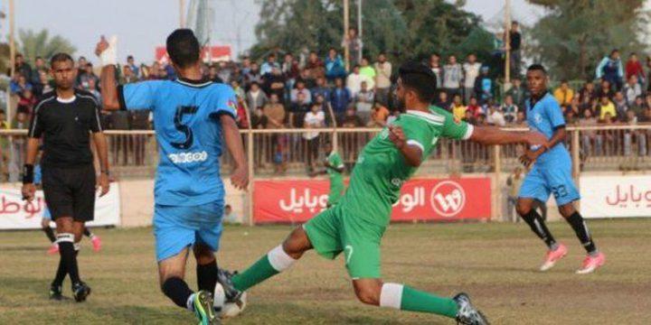 خدمات رفح وصيفا للدوري الممتاز والقادسية يودع الدوري بفوز شرفي