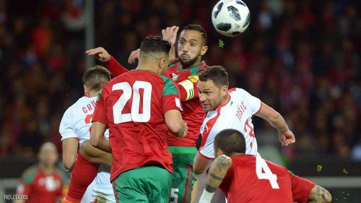 """هكذا رد """"أسود المغرب"""" على إهانات قائد منتخب صربيا"""