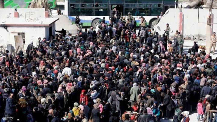 """أكثر من 105 آلاف مدني """"هجروا"""" غوطة دمشق الشرقية"""