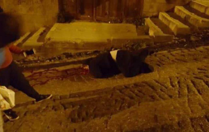بالفيديو والصور: العثور على جثة شاب في منطقة المدبسة وسط بيت لحم