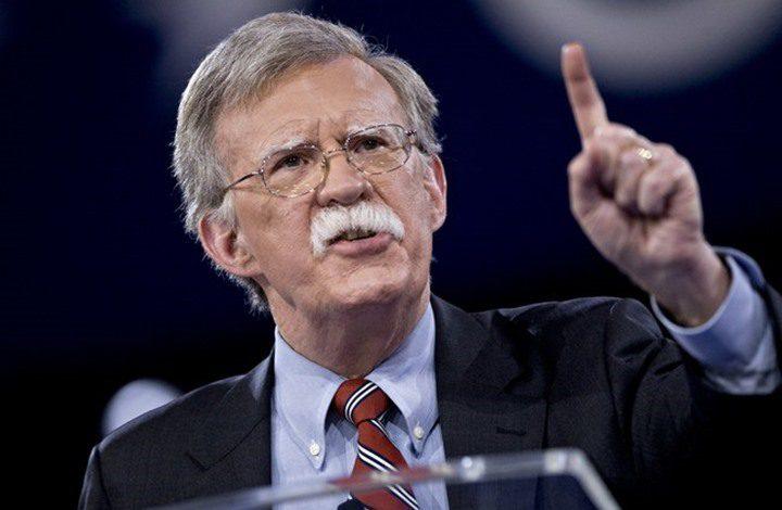"""""""يديعوت"""": بولتون مناهض للعرب ويرى المفاوضات مضيعة للوقت"""
