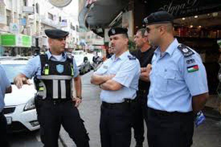 شرطة نابلس تصدر تقرير انجازاتها الأسبوعي