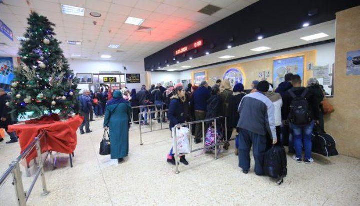 تنقل 2618 مسافر السبت على معبر الكرامة