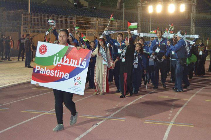 فلسطين تحصل على 27 ميدالية ملونة بدورة الألعاب الإقليمية