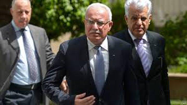 """وزيرا الخارجية الفلسطيني والألماني: """"لا بديل عن حل الدولتين"""""""
