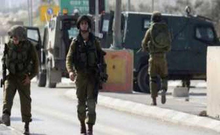 الاحتلال يستولي على شاحنة في سبسطية