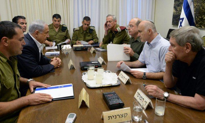 """الإعلام العبري يكشف مزاعم """"كابينيت"""" الإحتلال وخياراته لافشال مسيرة العودة"""