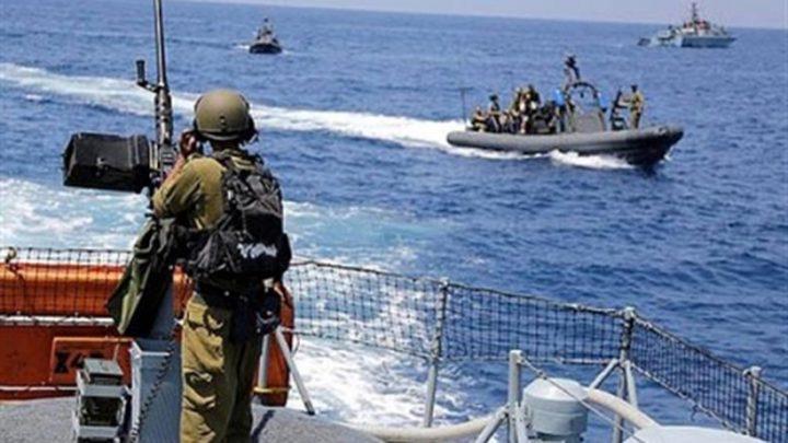 بحرية الاحتلال تطلق النار على مراكب الصيادين قبالة غزة