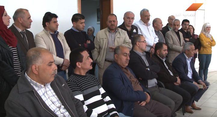 بالفيديو.. وقفة تضامنية  مع الزميل بكر عبد الحق