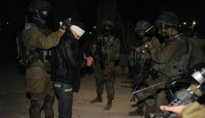 إعتقال شابين شرق رام الله