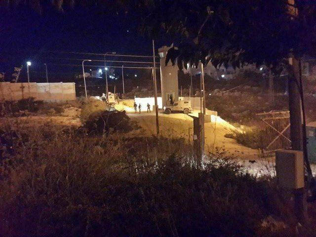 """الإحتلال يزعُم الإشتباه بمحاولة اقتحام لمستوطنة """"شيلو"""" قرب نابلس"""