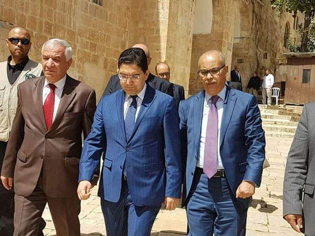 وزير خارجيّة المغرب: مستمرّون في دعم الشّعب الفلسطيني