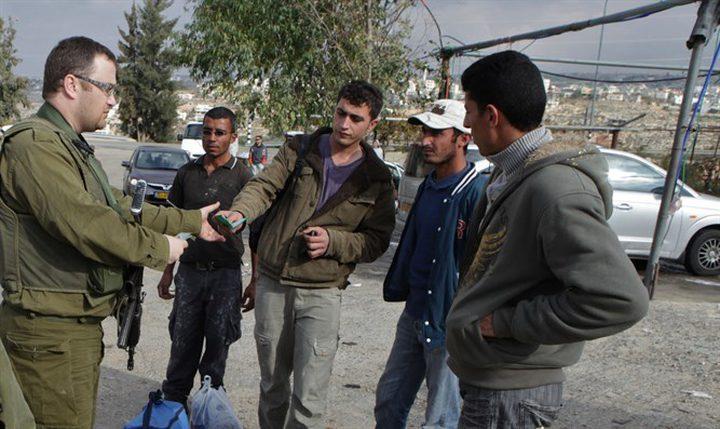 شرطة الاحتلال تعتقل (468) عاملًا فلسطينيًّا بالداخل المحتل