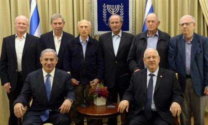 رؤوساء سابقون للموساد: مستقبل إسرائيل في خطر