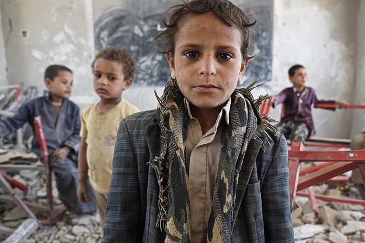 اليونيسيف: نصف مليون طفل يمني تركوا دراستهم بسبب النزاع