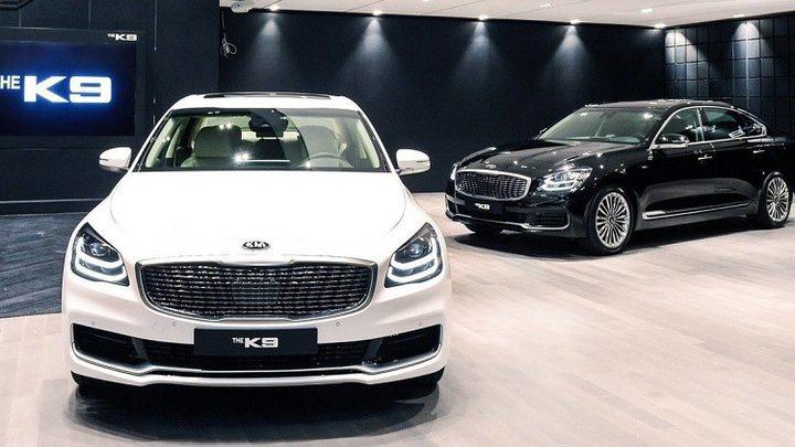 """طرح الجيل الجديد من سيارة كيا """"K9"""" الفارهة!"""