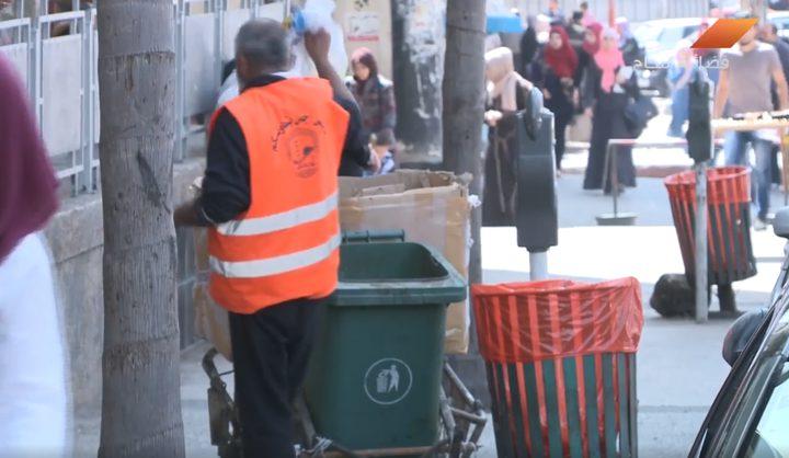 بالفيديو.. أين وصل تطبيق بلدية نابلس الغرامات على النظافة