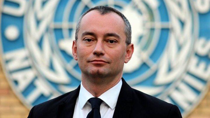 ملادينوف: إسرائيل لم تتخذ أي خطوة لتنفيذ القرار 2334