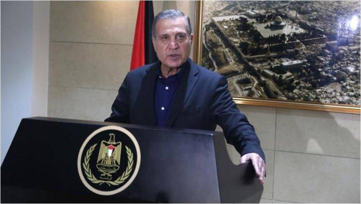 """أبو ردينة: قرارات الكونغرس بوقف المساعدات """"إعلان حرب"""""""