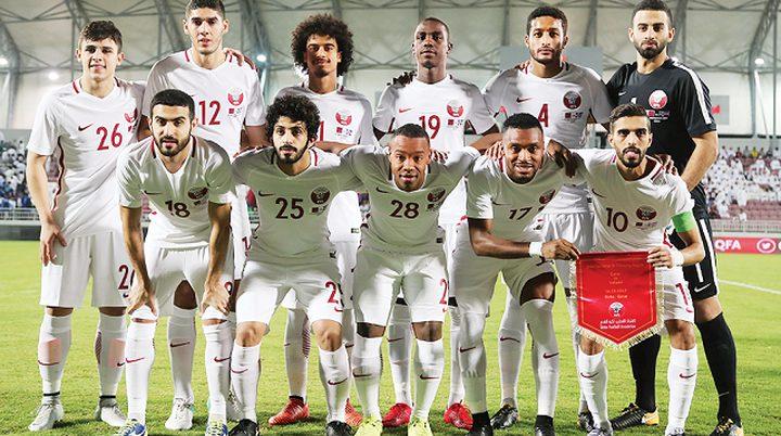 قطر تتوج بلقب بطولة الصداقة الدولية في العراق
