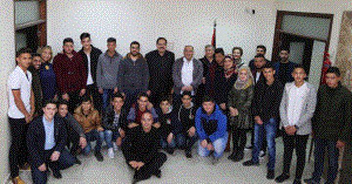 صيدم يدعو طلبة التربية الإعلامية لفضح انتهاكات الاحتلال أمام العالم