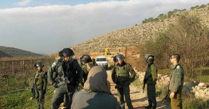 الاحتلال يمنع العمل بشق طريق زراعي جنوب بيت لحم