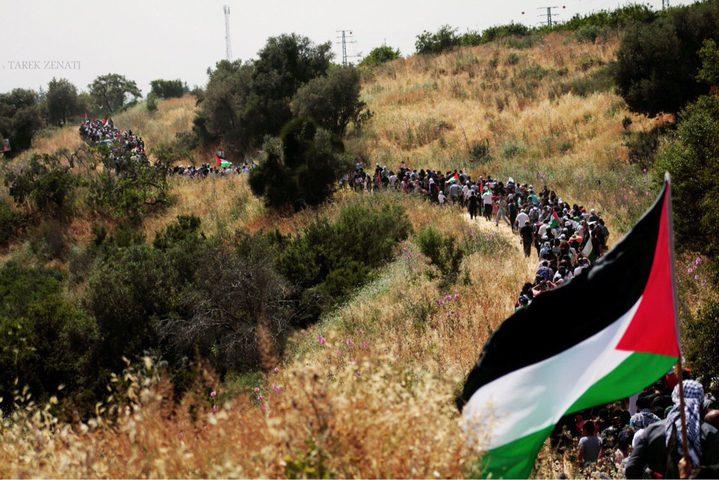 """""""مسيرة العودة"""" هاشتاغ يشعل مواقع التواصل وإسرائيل"""