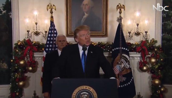 ترامب يوقع على قانون يحظر تمويل السلطة الفلسطينية