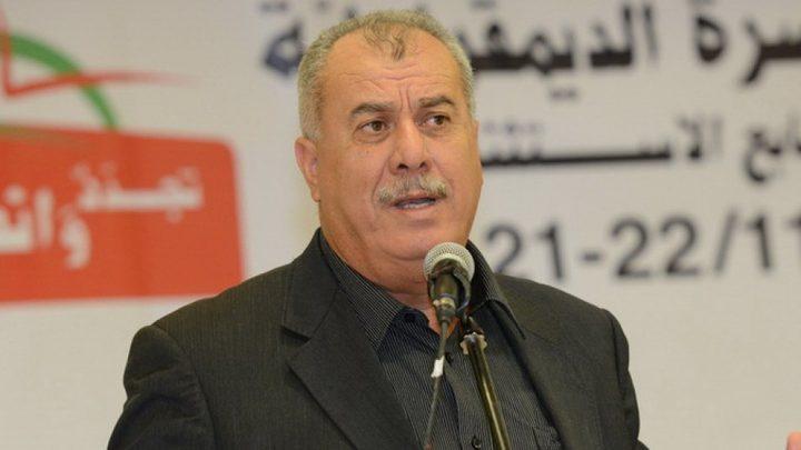 بركة: تهديدات الاحتلال لمسيرة العودة تعكس رعبه من المقاومة الشعبية