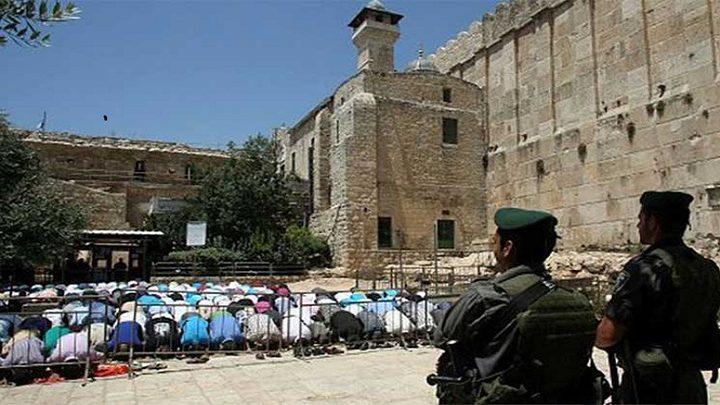 الحَملة الوَطنيّة لرفع الإغلاق عن مدينة الخَليل تدعو لأداء  صلاة الجمعة في الحرم الإبراهيمي