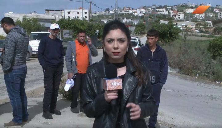 عمل تطوعي لزراعة الأشجار بمناسبة يوم البيئة الفلسطيني الثالث
