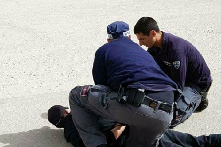 شرطة الإحتلال  تعتقل فلسطينيًا في بئر السبع