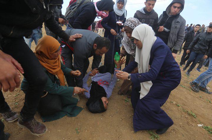 """وزارة الإعلام"""" تندد بقمع قوات الاحتلال لمسيرات """"يوم الأرض"""""""