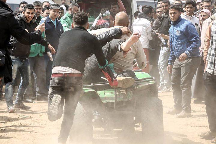 """في ذكرى يوم الأرض.. """"15"""" شهيدًا وأكثر من 1416 إصابة برصاص الاحتلال على حدود غزة (محدث)"""