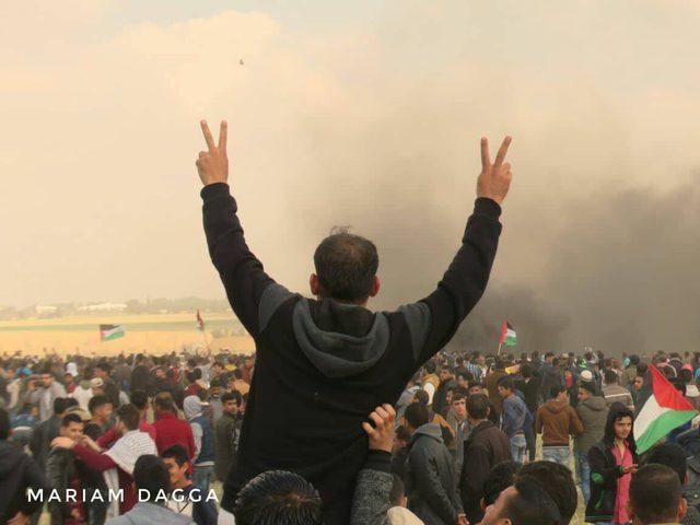 أبو يوسف: شعبنا خرج موحدا يلبي دعوة القوى الوطنية لإحياء ذكرى يوم الأرض