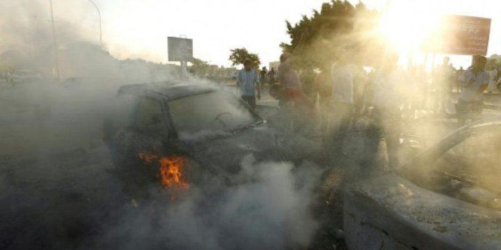 ليبيا: 8 قتلى في هجوم انتحاري
