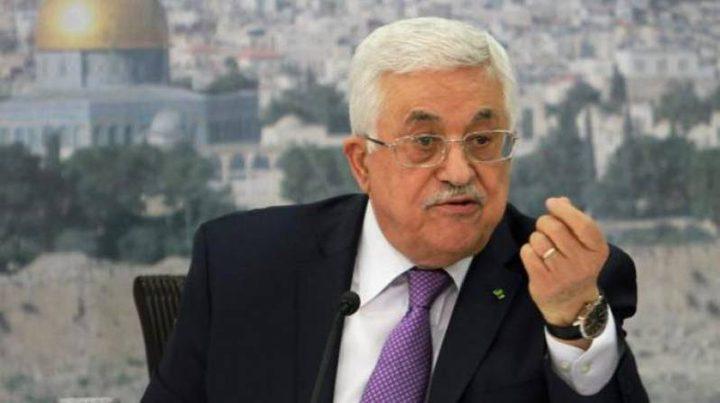 الرئيس يُحمّل الاحتلال المسؤولية عن ارواح الشهداء ويدعو لتوفير الحماية الدولية لشعبنا