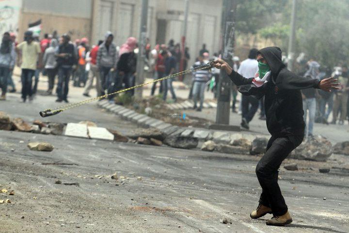 30 إصابة على الأقل في مواجهات جنوب نابلس