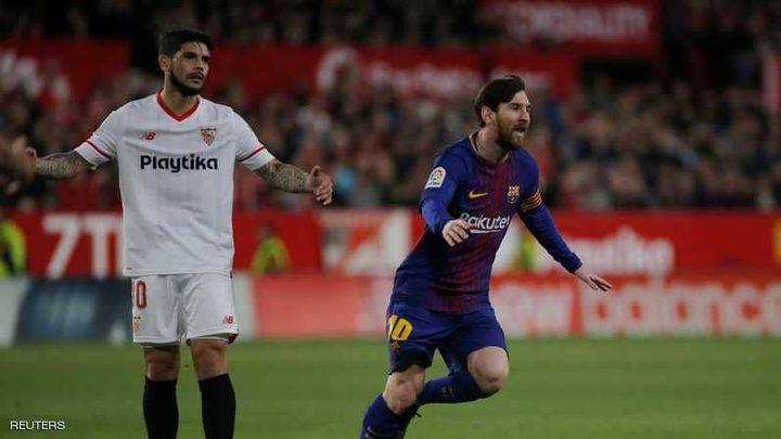 برشلونة ينجو بأعجوبة من أول هزيمة بالدوري