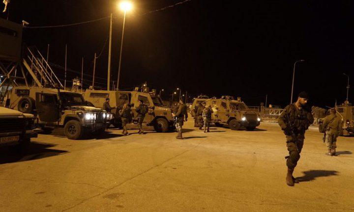 """الاحتلال يزعم الاشتباه بتسلل في مستوطنة """"آفني حيفيتس"""" شرق طولكرم"""