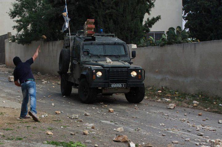 إصابة طفل بمواجهات مع الاحتلال في كفر قدوم
